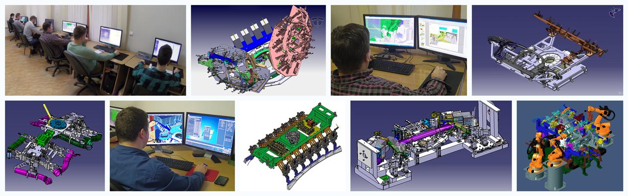 Engineering galleries collage