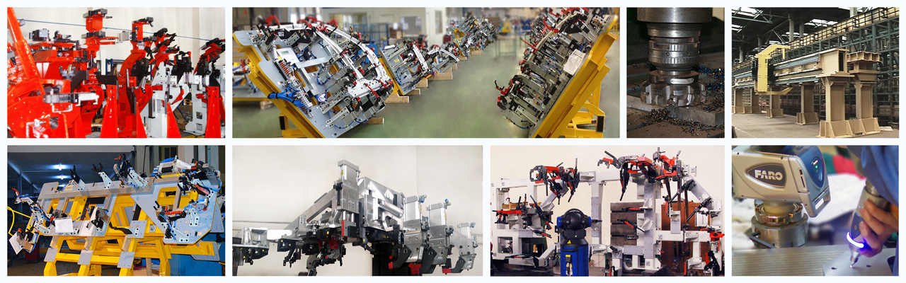 Manufacturing galleries collage